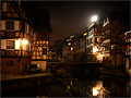 Strasbourg by night (France)